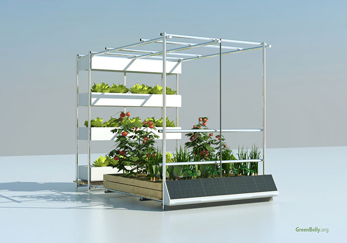 Vertical Urban Garden